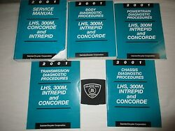 2001 LHS 300M INTREPID CONCORDE SERVICE SHOP REPAIR MANUAL SET