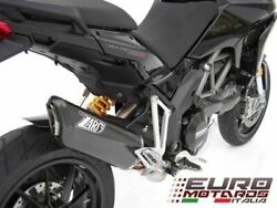 Ducati Multistrada 1200 Zard Exhaust Full System With Carbon Silencer /cap +3hp