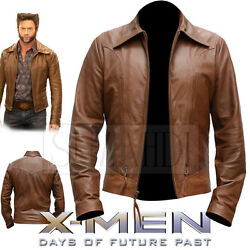 Leather Jacket Inspired By X-men Days Of Future Past Wolverine Logan By Suzahdi