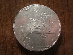 1675 Denmark 2 Krone Traces Of Mounting