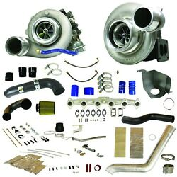 Fits 10-12 ONLY Dodge Ram Diesel BD-POWER RT800 RACE TRACK TWIN TURBO KIT..