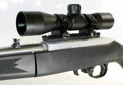 Trinity Scope 4x32 Mildot Reticle Replacement For Ruger 10-22 Rifle Upgrades Blk