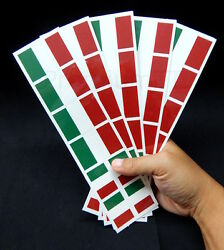 40 Removable Stickers: Italy Flag Italian Party Favors Decals