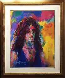 Leroy Neiman Howard Stern Lithograph Hand Signed Newly Custom Framed Sold Out