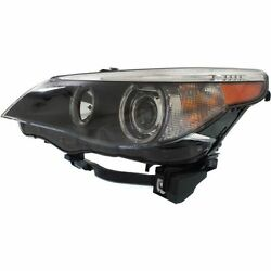 New Headlight Driver Side For Bmw 525i Bm2502124 2004 To 2007