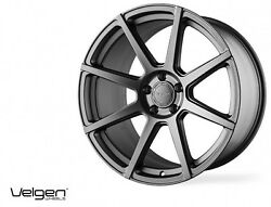 20x10.5 Velgen Vmb8 5x120 +35 Matte Gunmetal Wheels Set Of 4