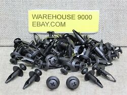 50 Push Type Retainers Auveco 14992 Ford Oem N803946s Chrysler Oem 6502871