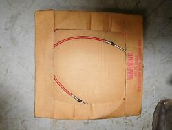 Morse red jaket marine outboard throttle control cable 323773-16