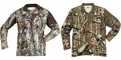 NWT ROCKY MEN#x27;S SILENT HUNTER SCENT CONTROL 1 4 ZIP PERFORMANCE amp; HUNTING SHIRTS