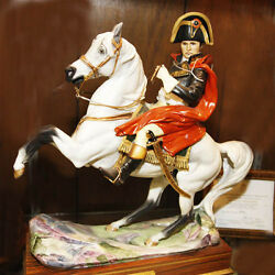 Napoleon Bonaparte By Royal Worcester 15.25 New Never Sold Made In England
