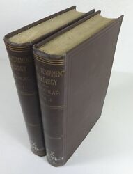 New Testament Theology By Beyschlag 1908 Complete 2 Volume Set - Religion