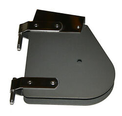 Nautos 91113d - Complete Rudder Head - Dark Anodized - Laser - Sailing Hardware