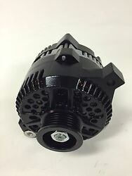 Ford Load Boss Black Painted Alternator 160 Amps Upgrade 1g 2g 1 Wire Turn On Se