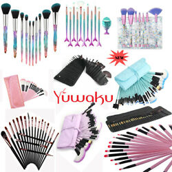 20 32Pcs Makeup Brushes Kit Set Powder Foundation Eyeshadow Eyeliner Lip Brush $6.39