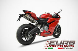 For Ducati Panigale 959 Dual Seat Biposto Zard Exhaust Full System - Only 4.5 Kg