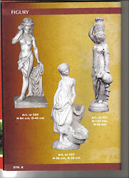 professional molds for the production of concrete garden Fountain figures relief