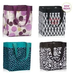 Thirty one Essential Storage utility tote bag 31 gift sketchy dot