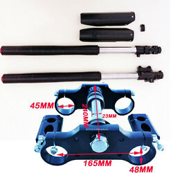 Front Fork Suspension And Triple Tree For 60cc 110cc 125 140 150cc Dirt Bike Su