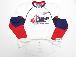 Chl 2007 Top Prospects Game Authentic White Reebok Edge 1.0 7187 Jersey Size 56
