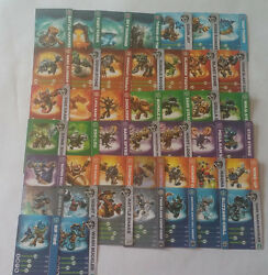 Skylanders Swap-force Trading Cards You Pick Which One You Would Like