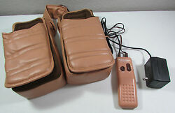 Vintage Clairol Research Foot Charger Vibrating Heat Slipper Massager