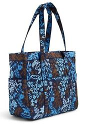 VERA BRADLEY~GET CARRIED AWAY LARGE TOTE BAG~JAVE FLORAL~BEACH~CARRY-ON~BNWT!