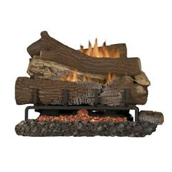 Mnf30 Vf 30 Ng Ember Bed Electric Burner W/ 36 Giant Timber Logs