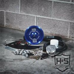 Fits 11-16 Ford 6.7l Diesel Hands Dual High Pressure Fuel Kit W/o Cp3 Blue Pulley.