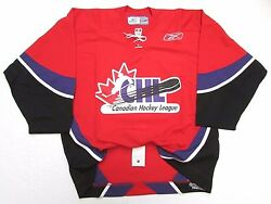 Chl Top Prospects Game Authentic Red Pro Reebok Hockey Jersey Size 54