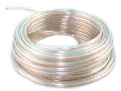 25 Ft Long 24 Awg Gauge Car Audio Speaker Wire Cable Stranded Oxygen Free