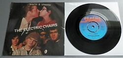 The Electric Chairs - Eddie And Sheena Uk 1978 Safari 7 P/s Push-out Centre