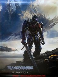 Transformers 5 Affiche Cinema Roulee 160x120 Rolled Movie Poster