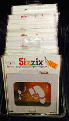 Pick Your Choice Of Sizzix Embossing Folders Lots Brass Stencil Cuttlebug