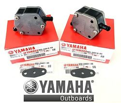 Yamaha Oem Pump Assy And Gaskets 2pack 115 150 175 200 225 250 300 6e5-24410-03