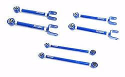 Megan Racing Rear Camber Kit + Toe Arms + Traction Rods For 16+ Chevrolet Camaro