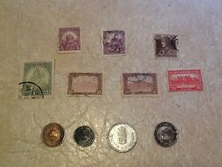 Hungary Pengo 1898 1941 1943 1940 Coin Stamp 10f 1920 1926 1918 Charles Iv Lot