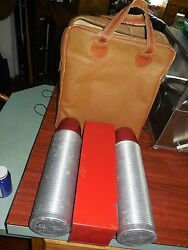 Vintage Thermos Double 32oz Thermos Lunch Picnic Kit 16 Piece