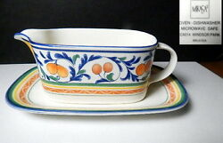 Mikasa Windsor Park Gravy Boat And Underplate