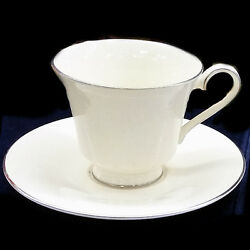Royal Doulton Jennifer Tea Cup And Saucer 3 Tall New Never Used Made In England