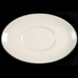 Jennifer Royal Doulton Gravy Stand 8.25 Long New Never Used Made In England