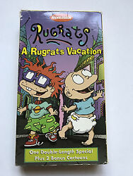 Rugrats A Rugrats Vacation Vhs One Double-length Special