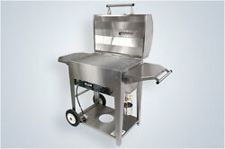 Wilmington Cape Fear Classic Stainless Steel Gas Grill With Side Burner Kit