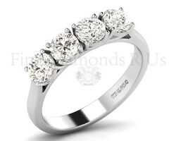1.20 Carat Round Brilliant Cut Diamond Engagement Ring Available In 18k Gold