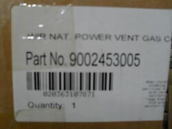 State water heater part 9002453005 NG Gas Valve long shank for 75NRV