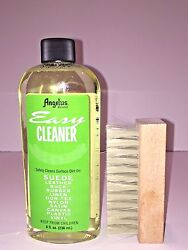 Angelus Easy Cleaner Suede Cleaning Kit Shoe Cleaning Kit 8oz With 4 Brush