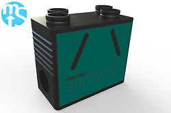 Upto 93 Heat Recovery Unit Brookvent Aircycle 1.2 Wmsb Whole House Mvhr System