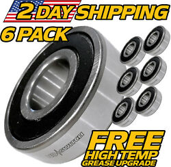 6 Pk Spindle Bearing Replaces Encore 363350 363146 W/ Hi-temp Grease Upgrade