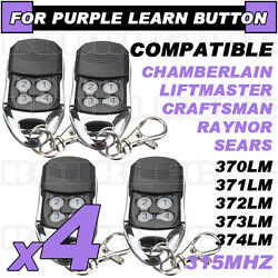 Best 4pk Liftmaster Compatible Remote 370lm 371lm 372lm 373lm 374lm 139.18191