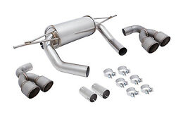 Megan Stainless Steel Axleback Exhaust Fits Bmw M4 F82 15-17 Mr-abe-bf82-rm