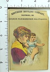 1870's Rochester Beer Southern Bottling Co, Bartholomay Brewing Trade Card 2 F69